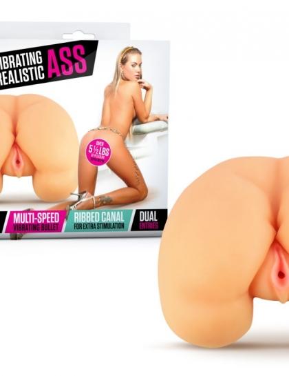Vibrating Realistic Ass